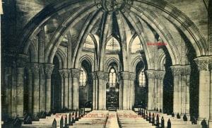 Barcelona  nº 13 Templo de la Sagrada Familia La Cripta. Herederos Vda. Plá Barcelona  J Thomas s/f Principios siglo XX 15 €