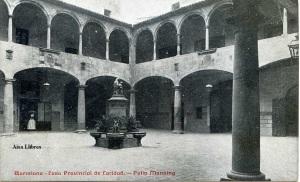 Barcelona Casa Provincial de Caridad Patio Manning Ed Imprenta Casa de Caridad s/d principis segle XX 17 €