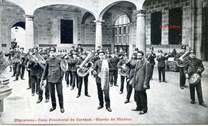 Barcelona Casa provincial de Caridad Banda de Música Impr Casa de Caridad s/d Principis segle XX 20 €