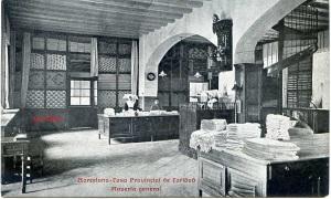 Barcelona  Casa Provincial de Caridad Ropería General. Impr. Casa Caridad  Barcelona s/d  principios siglo XX, 15 €