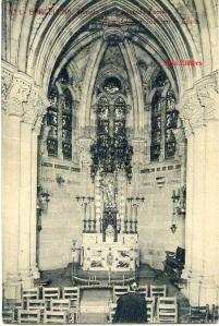 Barcelona nº 1 Templo de la Sagrada Familia Altar de San José en la cripta. Ed. Herederos de Plá Barcelona s/f principios siglo XX, 25 €