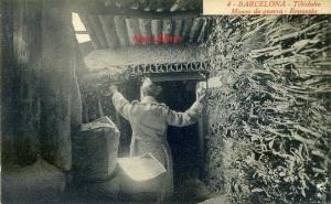 Barcelona 4 Tibidabo Museo de guerra Repuesto Rosin fotográfo Barcelona principios siglo veinte  15 €