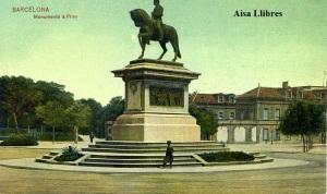 Barcelona Monumento á Prim Dr. Trenkler Co., Leipzig 1908 Bca 2  s/f  s/d Principios siglo XX 20 €