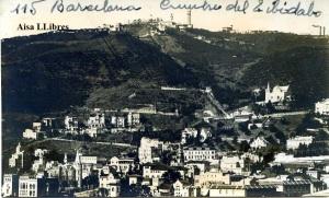 Barcelona Cumbre del Tibidabo 115 fotográfioca s/f años 50?  8 €
