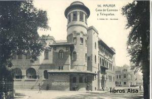 Málaga Casa de Correos y Telégrafos nº 56 ,   15 €