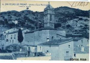 San Pedro de Premiá  Iglesia y Casa rectoral  nº 8, 15 €