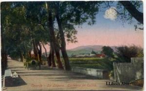 Tenerife  La Laguna Carretera de Tejina . JG 9892  s/d ( principios siglo XX) a color cantos algo rodados 18 €