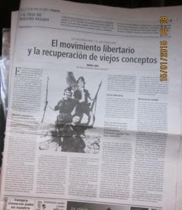 El movimiento libertario y la recuperación de viejos conceptos  editado en Diagonal núm. del 2 al 15 marzo 2006