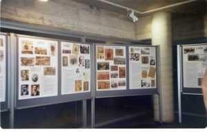 Part de l'exposició de l'efervescència  social dels anys 20 Barcelona 1917-1923  realitzada per Manel Aisa amb el material de l'ateneu enciclopedic