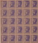 segell octavo aniversario Durruti 1pts