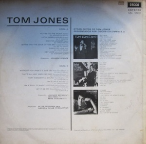 This is Tom Jones  contraportada 10 €
