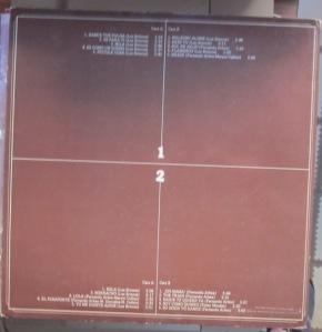 Los Brincos Serie Especial Coleccionistas  Madrid 1976  Vinilo LP doble 25 € dorso