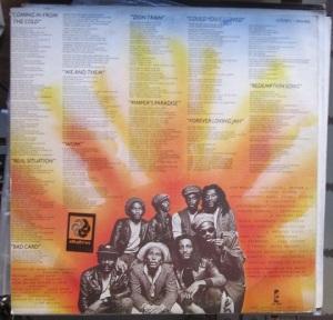 contraportada Bob Marley & The Wailers Uprising 50 €