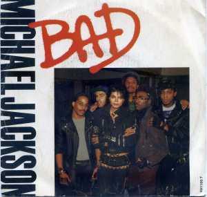 Michael Jackson  Bad  1987   Vinilo 45  8 €