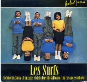 les Surfs Cada Noche  Nunca alcanzarás el cielo  1964... Vinilo 45   6 €