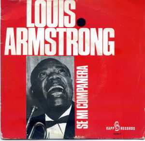 Louis Armstrong A kiss to build a dream on  1965  Vinilo 45 ,  10 €