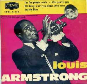 Louis Armstrong  The five pennies saints  1960 Vinilo 45 , 8 €