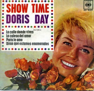 Doris Day Show Time  la calle donde vives, 1962 vinilo 45,    6 €