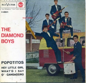 The Diamond Boys Popotitos Hey Little Girl What'd i say  O' Cangaceiro  1963  Vinilo  45 , 16 €