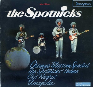 The Spotnicks Orange Blossom Special  The spotnicks ' Theme , Ojos Negros, Amapola  vinilo 45, 1963, 9 €