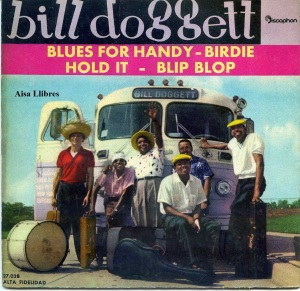 Bill doggett  Blues for Handy  Hold It 1961 vinilo 45  , 18 €