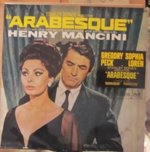 Arabesque  Henry Mancini Gregory Peck Sophia Loren Madrid 1966 15 €