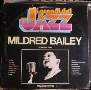 I grandi del Jaz Mildred Bailey di Marcello Piras  50 €
