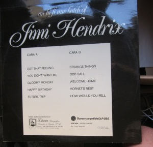 an hi- fi rare batch of Jimi Hendrix  30 € dorso