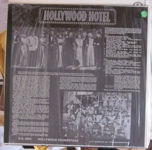 Benny Goodman & His Orchestra  Hollywood Hotel 40 € dorso