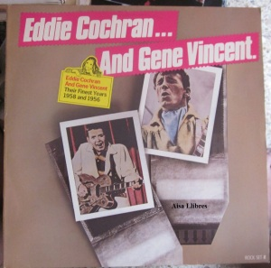 Eddie Cochran... And Gene  Vincent their Finest Years 1958 and 1956  1980 Holland  12 €