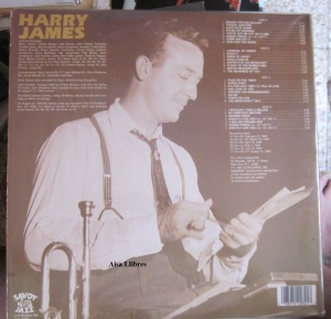 Harry James  Firts- Team Player On The Jazz Varsity Vinilo LP dobre  19876 New York  10 € dorso