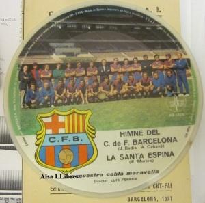 Himne del C de F Barcelona  1972 vinilo singel 14 €