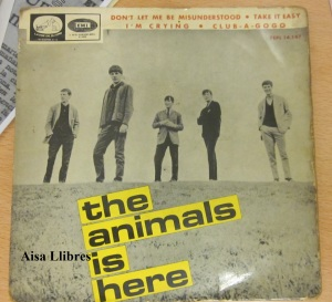 The animals is Here vinilo 45 don't  let me  misunderstood   1965  30 €