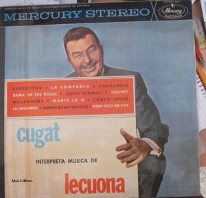 Xavier Cugat interpreta música de Lecuona 1964 LP Vinilo  30 €