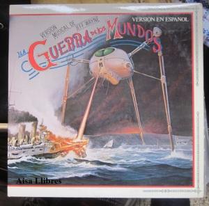 La Guerra de los Mundos versión Jeff Wayne  portada  vinilo doble LP  35 €