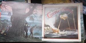 La Guerra de los Mundos versión Jeff Wayne   vinilo doble  folleto en españolLP  35 €