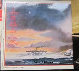 La Guerra de los Mundos versión Jeff Wayne  dorso  vinilo doble LP  35 €