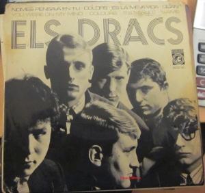 Els Dracs Vinilo 45 Nomes pensava en tu, Colors , es la meva vida, Quan, en català 1968 14 €