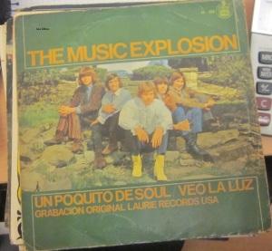 The Music explosion Un poquito de Soul / Veo la Luz  60 €,  1967 Vinilo 45