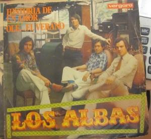 Los Alba Vinilo 45 , 1970 Historia de un amor Olé... El Verano 15 €