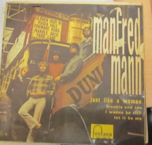 Manfred Mann  Just Like a Woman  1966 20 €