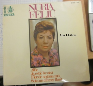 Núria Feliu   Alfie  Vinil 45   1967 7 €