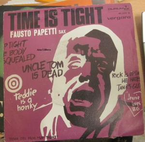 Fausto Papetti sax Time is tight First of May 1969  vinilo 45