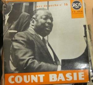 Count Basie et son orchestre  Jazz de poche nº 16  Paris 1962  vinilo 45