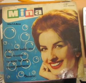 Mina Festival San Remo 1961 Le Mille bolle blu vinilo 1961 8 €