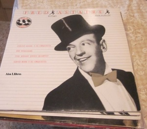 Fred Astaire Ritmo Fascinante Count Basie y su orquesta, Joe Williams  The Jonah Jones Quartet David Rose y su orquesta  Vinilo 1981  doble  50 €