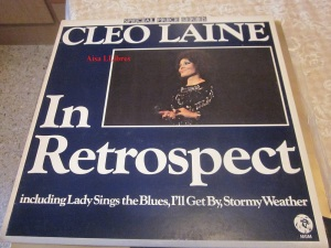 Cleo Laine In retrospect Including Lady Sings the blues, I'll Get By, Stormy Weather  England 1957  Vinilo  32 €