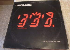 The Police Ghost in the machine vinilo  LP  1981 ,  12 €