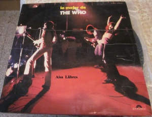 Lo mejor de The Who  Overture, Magic Bus,  ... 1974  Vinilo 1974
