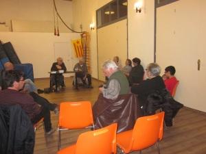 Presentació a Vilafranca del Penedes Manel Aisa i Xavier Navarro
